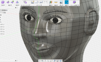 Fusion360で作った人間のフィギュア