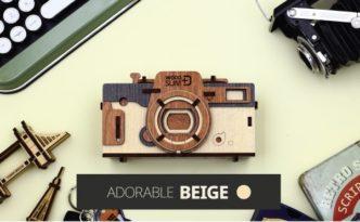 木製カメラキット「WOODSUM