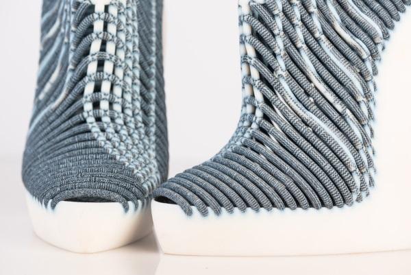 3Dプリンターの靴アップ