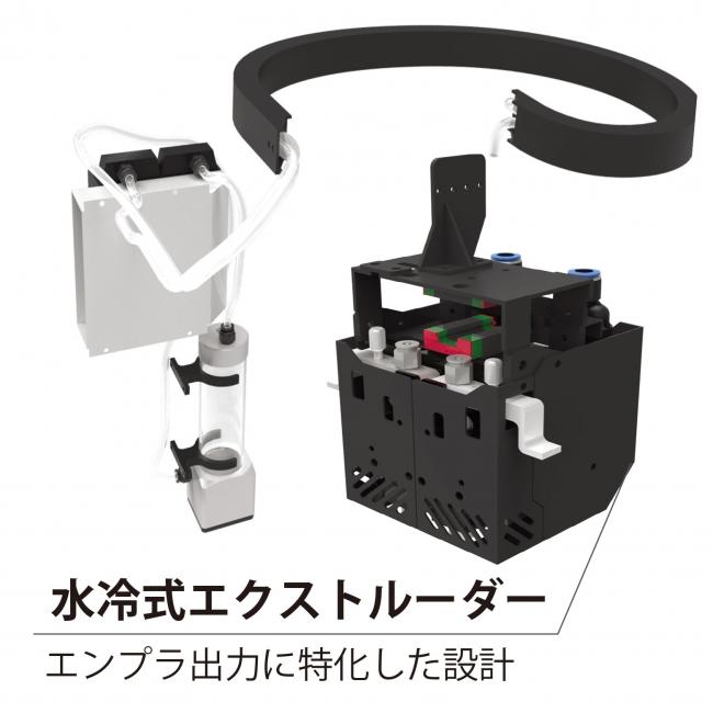 水冷式3Dプリンター