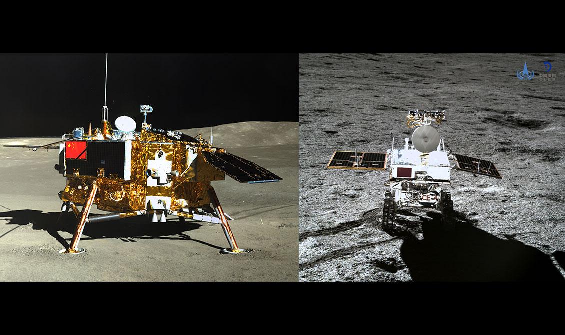 中国の月面探査船
