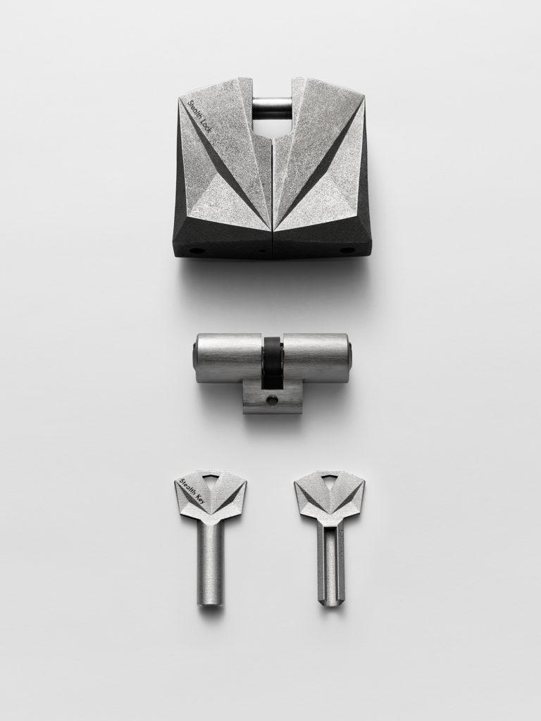金属3Dプリントの南京錠