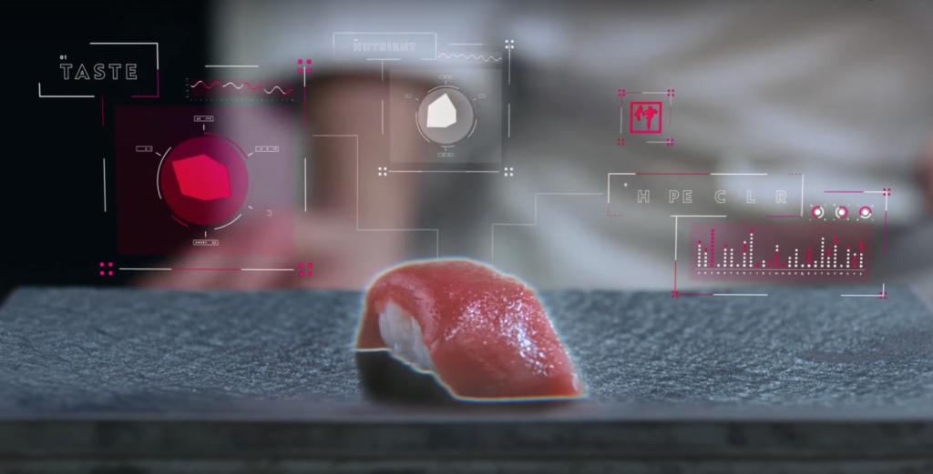 寿司をデータ化する