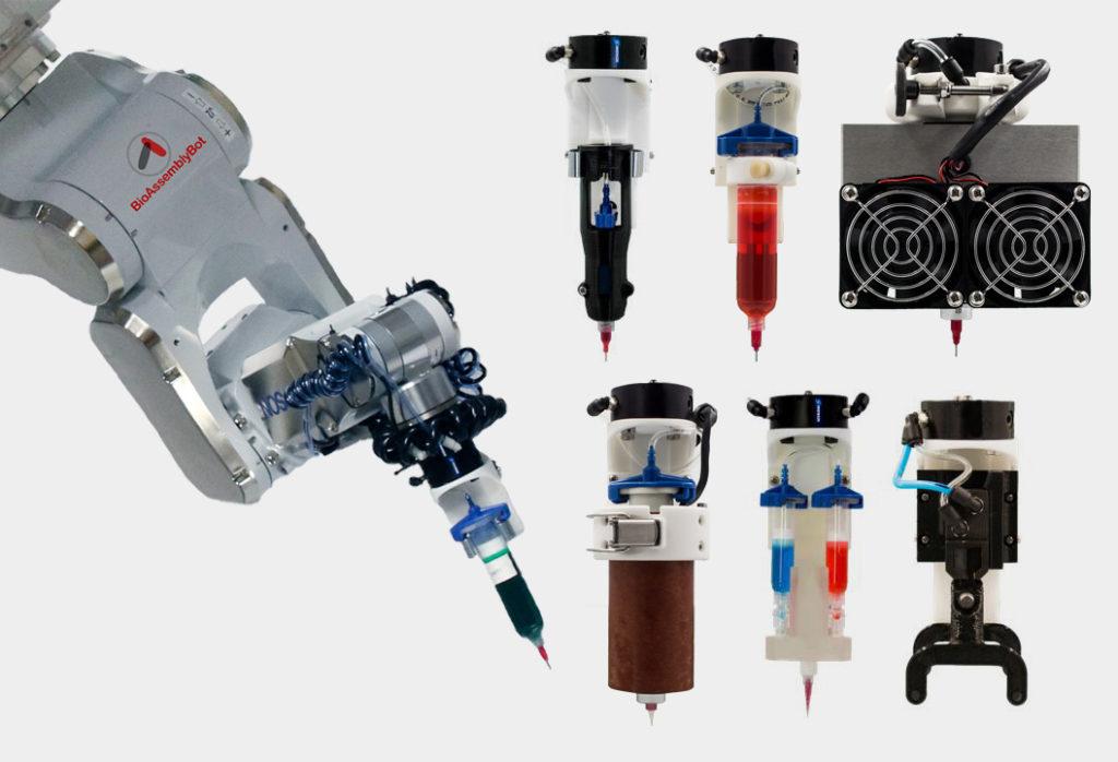BioAssemblyBotのプリントヘッド
