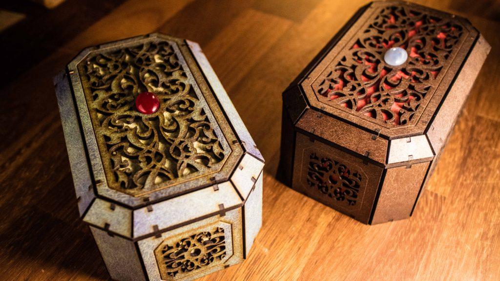 レーザーカッター で作った宝石箱