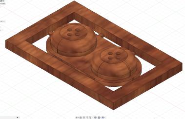 Fusion360で作成した3Dモデル
