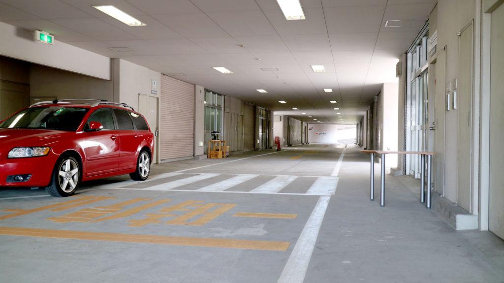 白髭西R&Dセンターの廊下