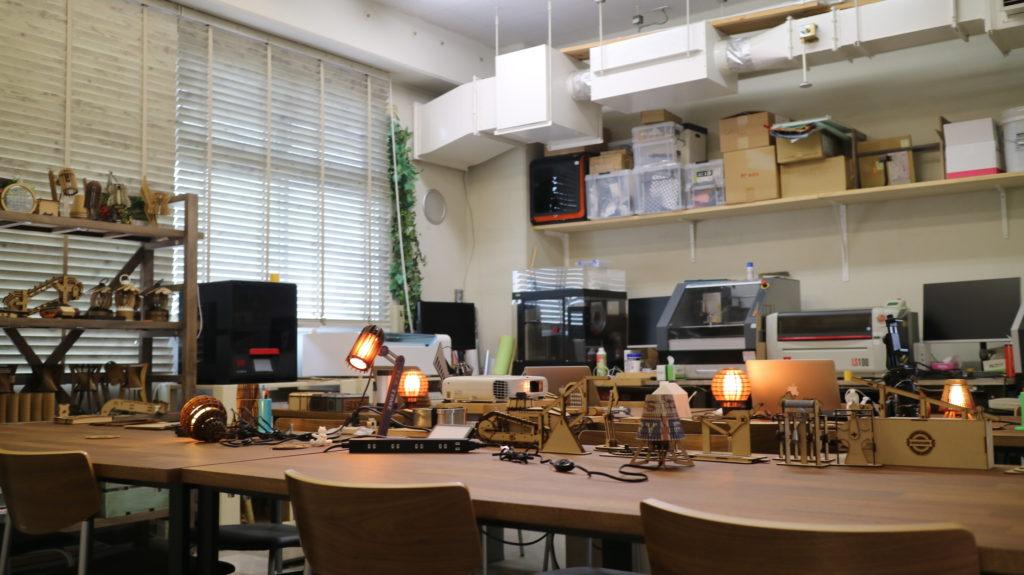 白髭西R&Dセンターの部屋