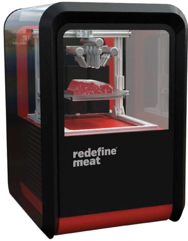 肉の3Dプリンター Redefine Meat