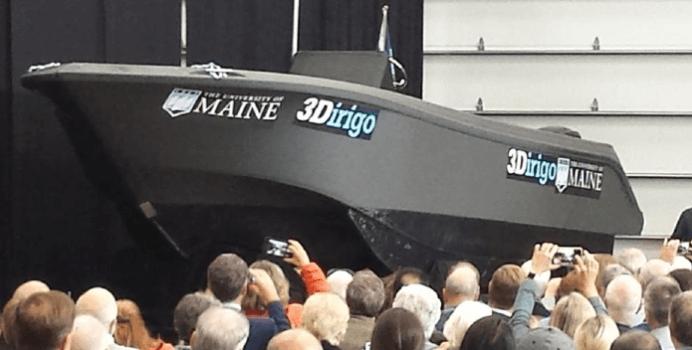 世界最大の3Dプリントボート