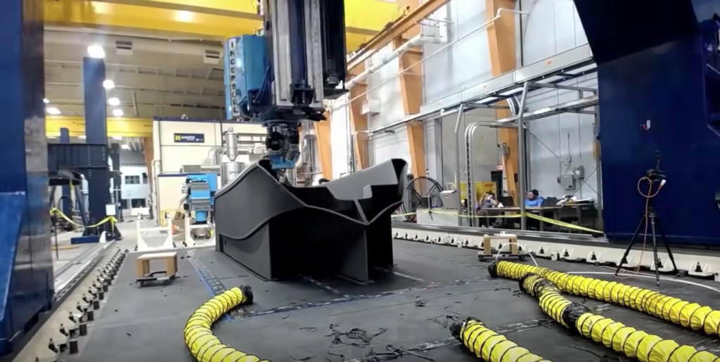 世界最大の3Dプリンター「Ingersoll Machine Tools」