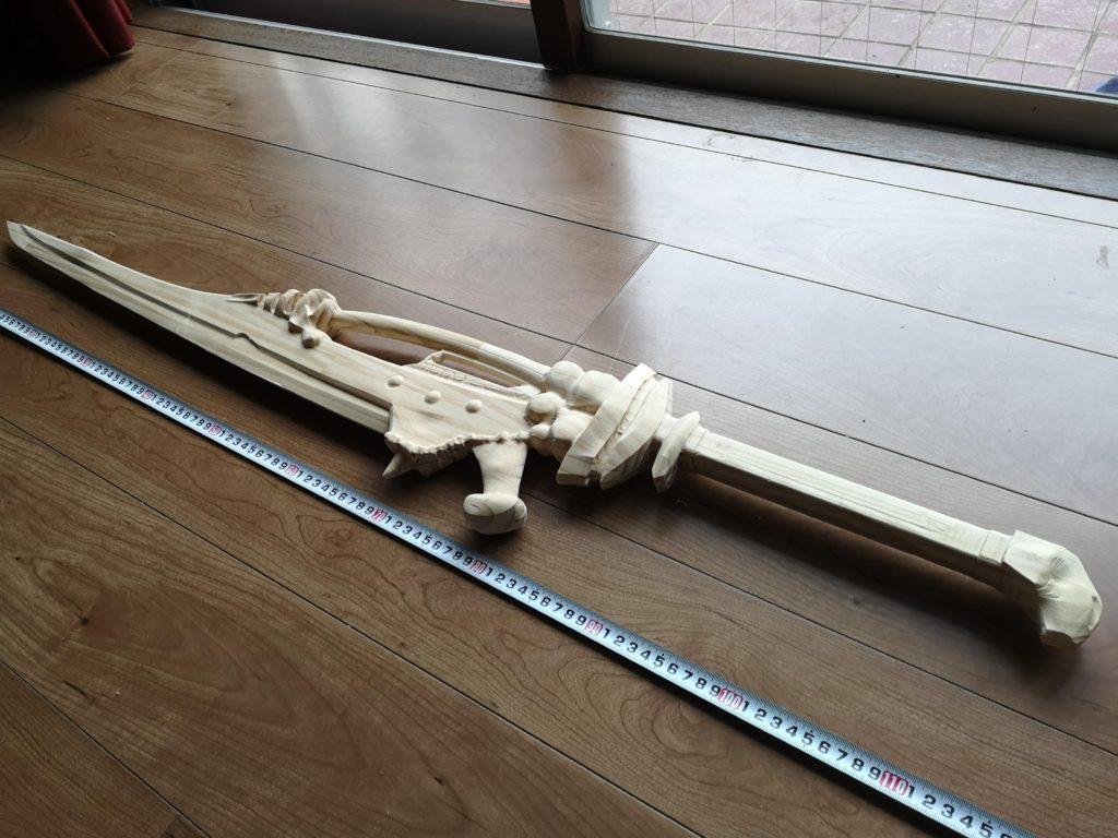 1m以上と巨大な剣