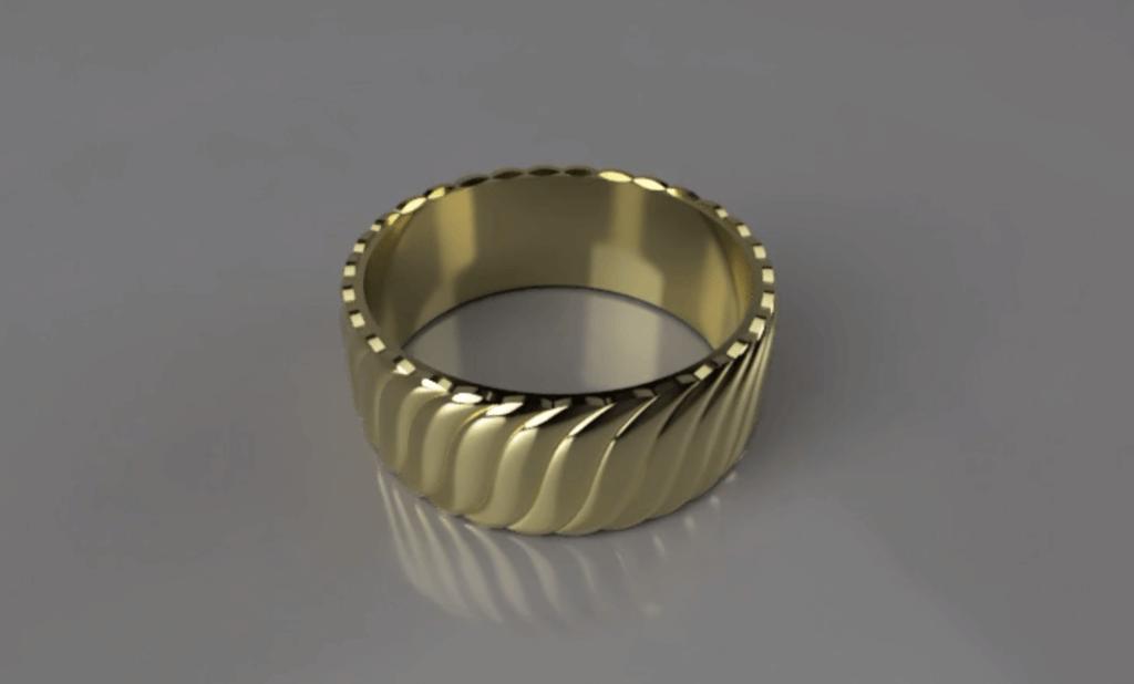 もこもこのリング