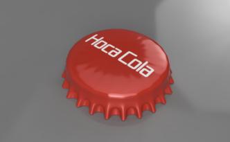 Fusion360で作った瓶の蓋