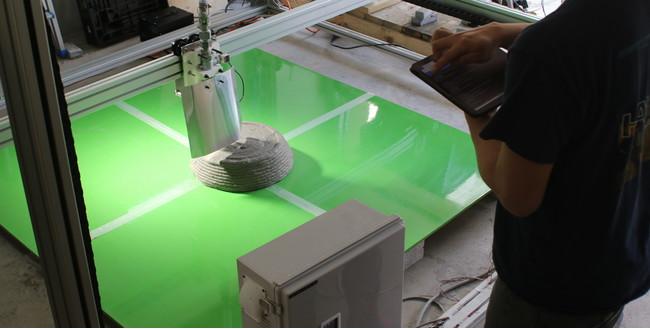 ポリウスの建築用3Dプリンター