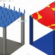 Fusion360の解析機能で、100人乗れる物置を作る方法